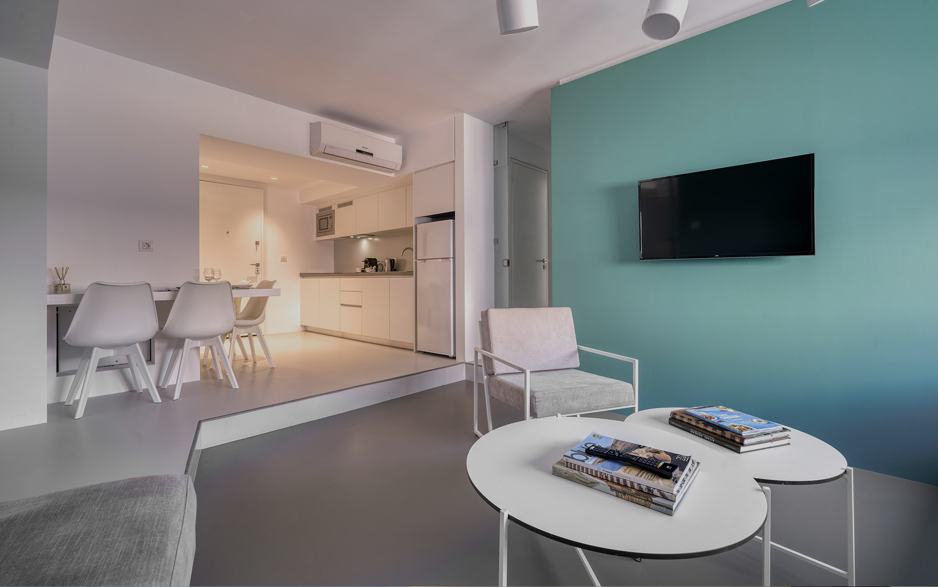 apartments athens center- Athens Color Cube Luxury Apartments