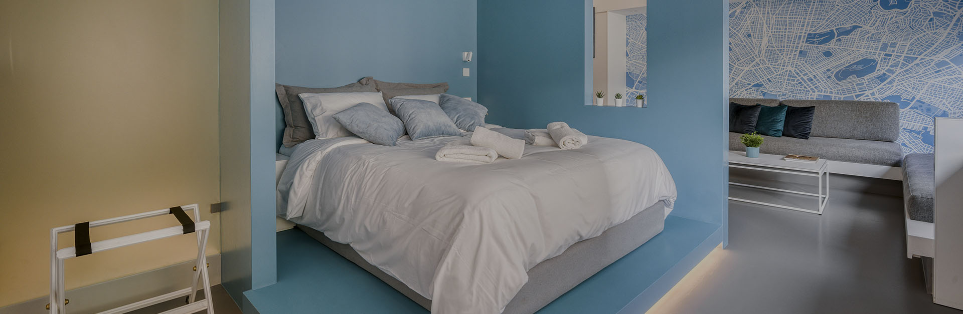 accommodation in athens - Athens Color Cube Luxury Apartments