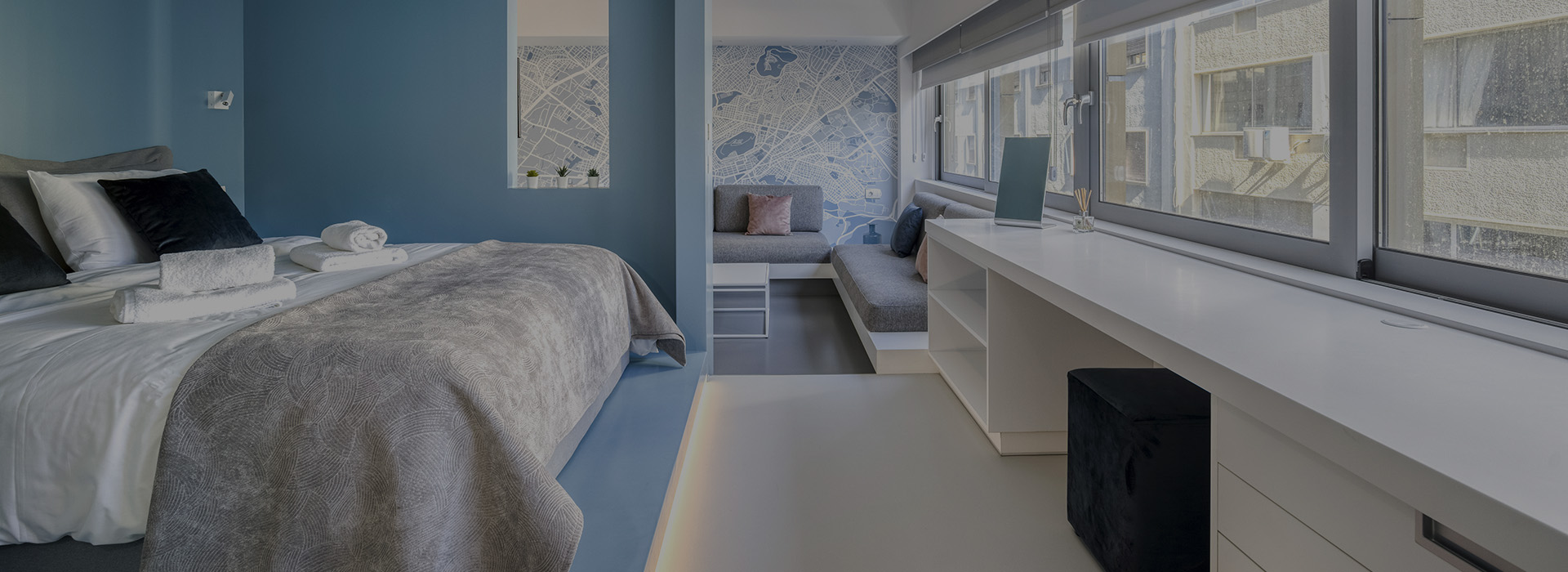 athens apartment offers - Athens Color Cube Luxury Apartments